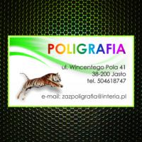 Wizytówka - Poligrafia